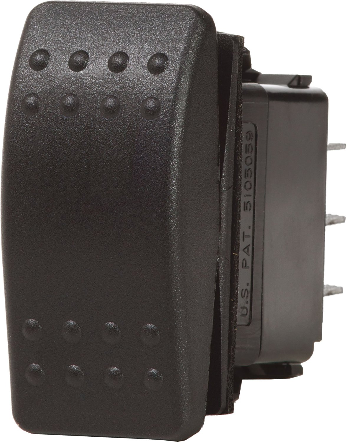 Blue Sea Systems Water Resistant Black Contoura II Switches