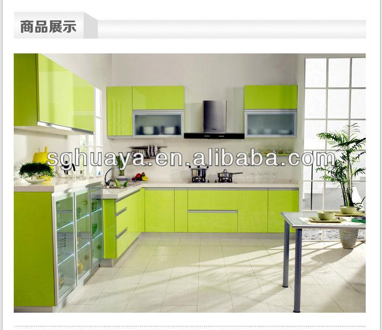 Uv De Alto Brillo Color De Moda Puerta Del Gabinete De Cocina - Buy ...