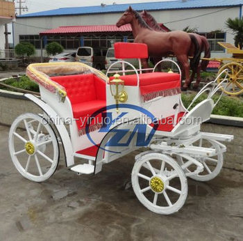 Yizhinuo White Pony Horse-drawn Sightseeing Carriage/wagon Manufacturer -  Buy Sightseeing Horse Carriage,Horse Carriage For Sale,Used Horse Carriages