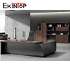 Ekintop modern office furniture desk wooden executive l shaped office desk