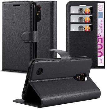 a05064aea90 Lichee Flip de la cartera de cuero teléfono caso con imán cubierta de la  ranura de