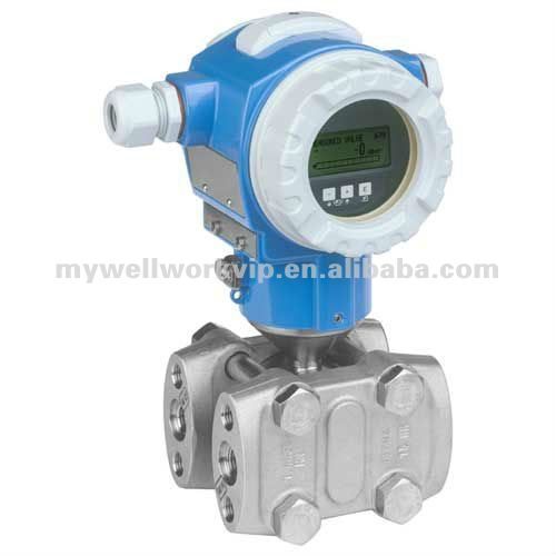 E+H Differential pressure flow measurement Deltabar S PMD75