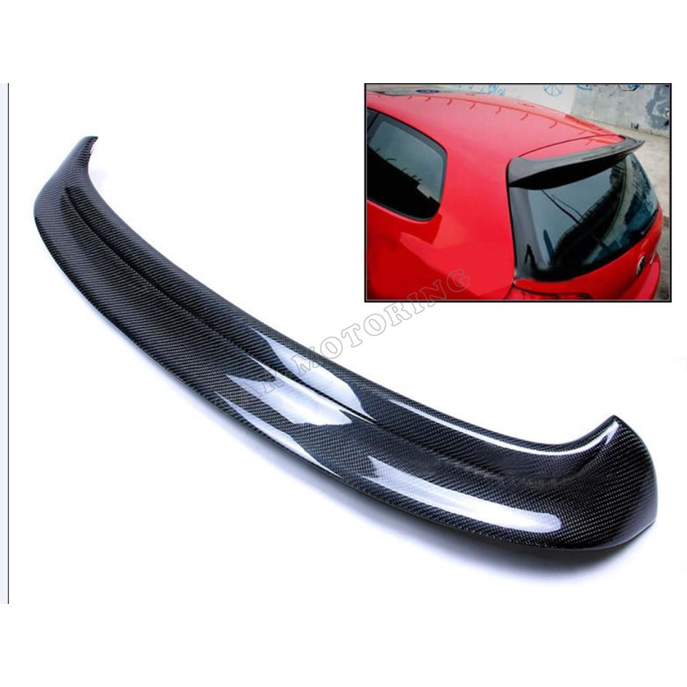 100 Rear Carbon Fiber Mk5 R32 Carbon Fiber Roof Spoiler