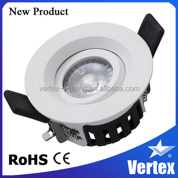 2015 new led ceiling light, Smart Installation Ra97 8W dimmable led ldownlight