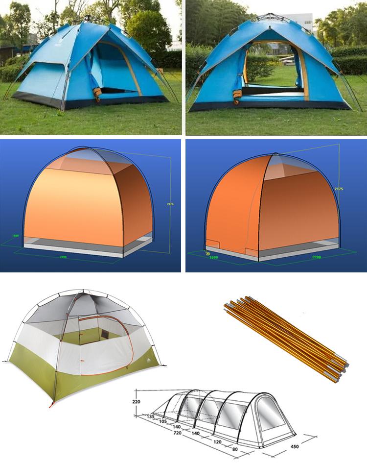 C&ing tent poles manufacture u0026 aluminum tube connectors u0026round aluminum tube connectors  sc 1 st  Alibaba & Camping Tent Poles Manufacture u0026 Aluminum Tube Connectors u0026round ...
