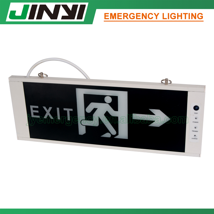 emergency light exit sign,wall mounted emergency exit sign,emergency exit sign font