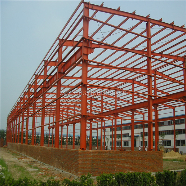 pre engineering steel structure warehouse draw