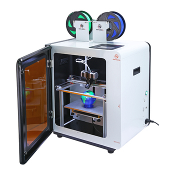 MINGDA dual extruder MD-4D professional color 3d printer 300*200*200mm