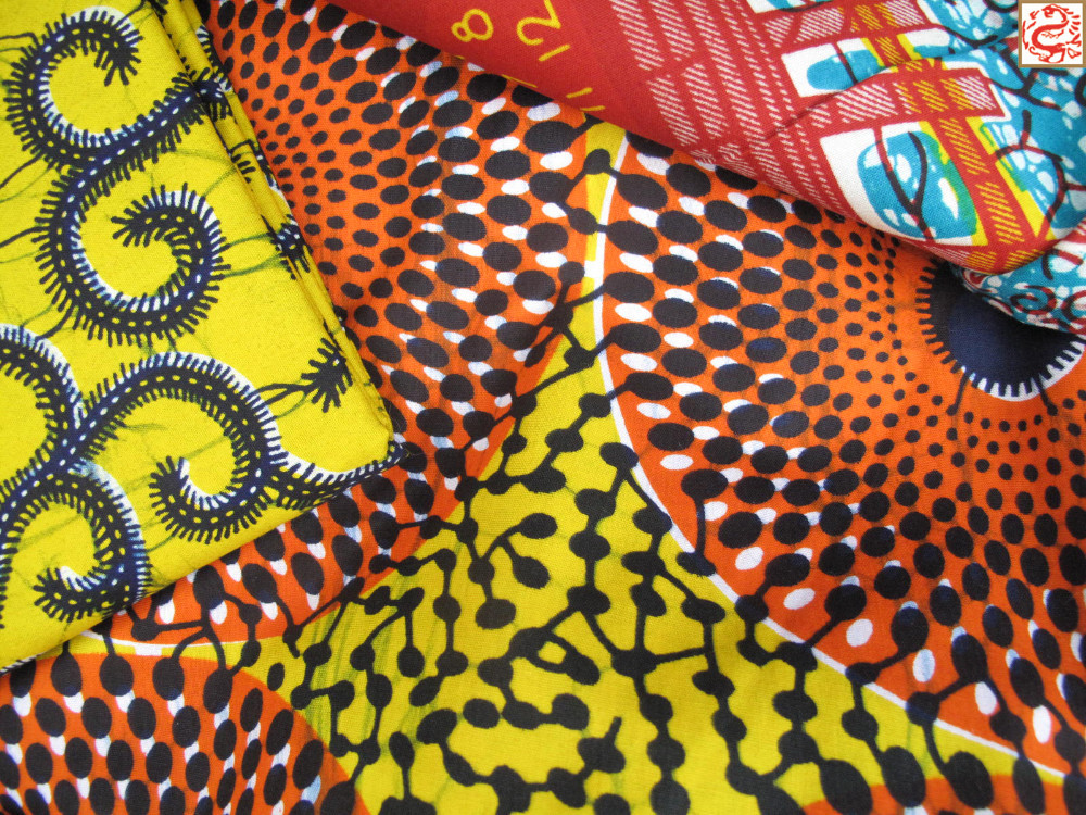 Textile Printing 100 Cotton Fabric African Wax Prints