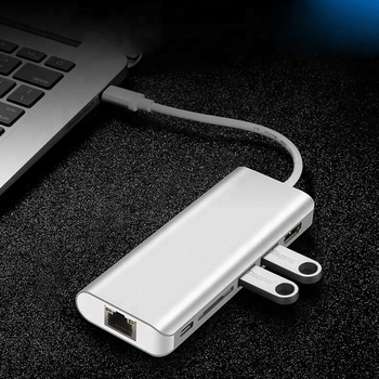 2019 amazon 3.0 3.1 usb type c hub for macbook hub type-c usb-c usb c adapter