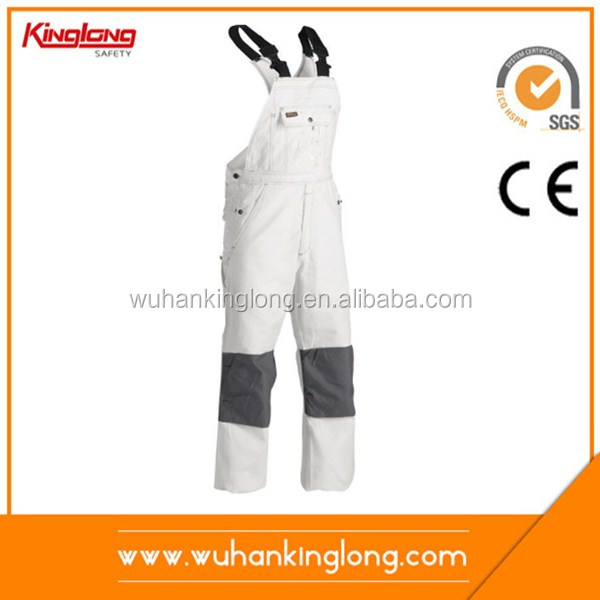 Cheap Price Customized Overalls Bib And Brace Trousers Dungarees For Sale