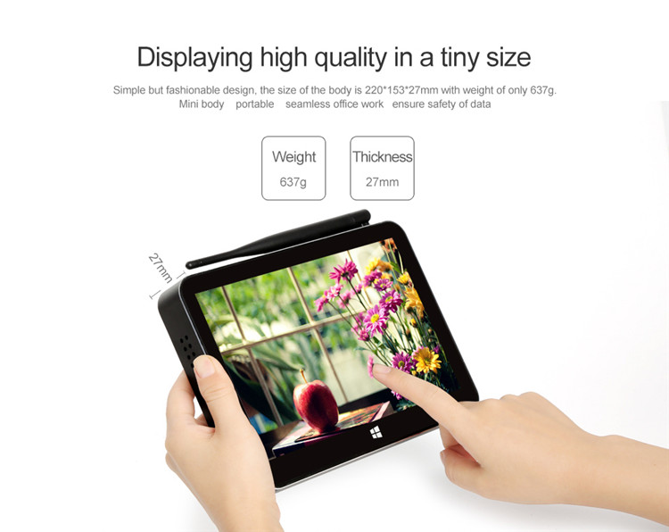android 5.1 mini pc PIPO X11 Z8350 2G 32G pipo tablet pc with win system mini pc