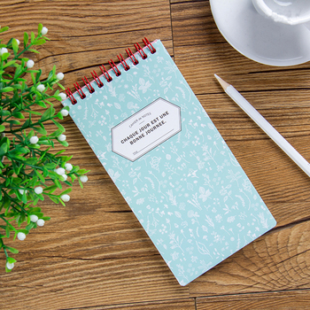 Office School Supplies Promotional Gifts Cute Flower Notebook Spiral lined Wire Notebook Mini Notepad