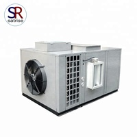 Growing room white button mushroom air handling unit climate control machine