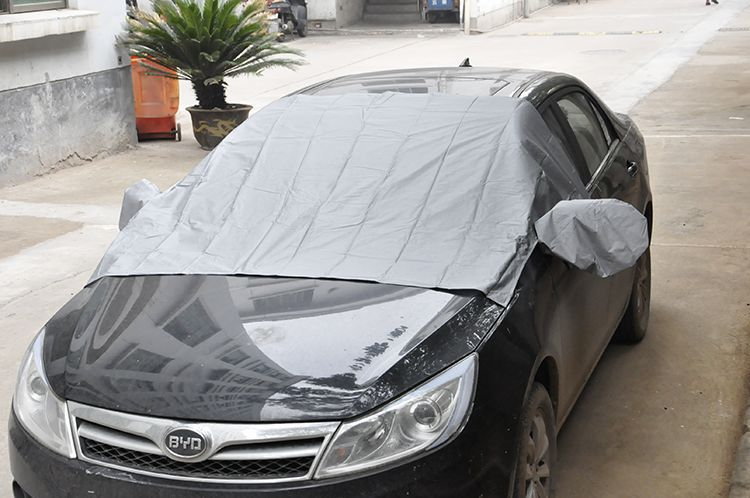 Best quality manufactures padded fireproof car snow cover