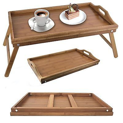 bamboo wooden serving tray with legs 5