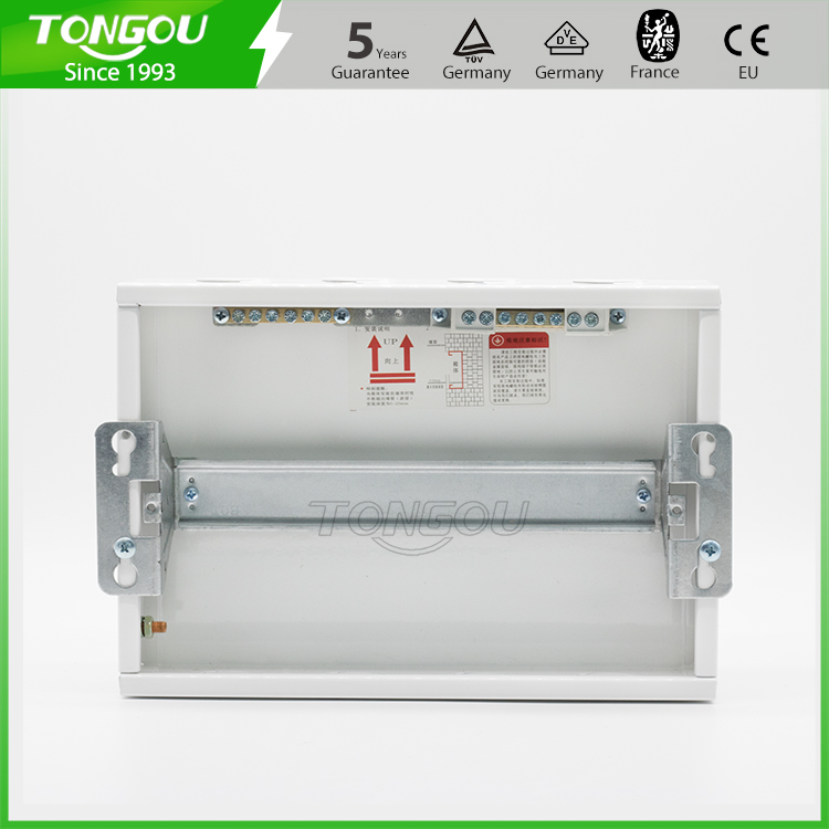 CE approved distribution box TOHBX metal din rail enclosure