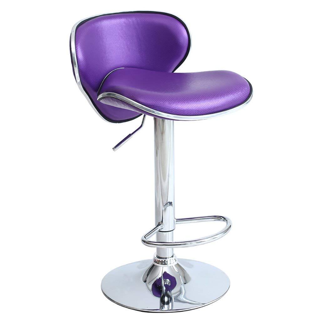 AIDELAI Stool chair Bar Stools Upscale Creative Bar Stools Simple Bar Stools Bar Stools High Chair Wild Bar Stools Chair Lift Chair Butterfly Chair Saddle Seat (Color : C)
