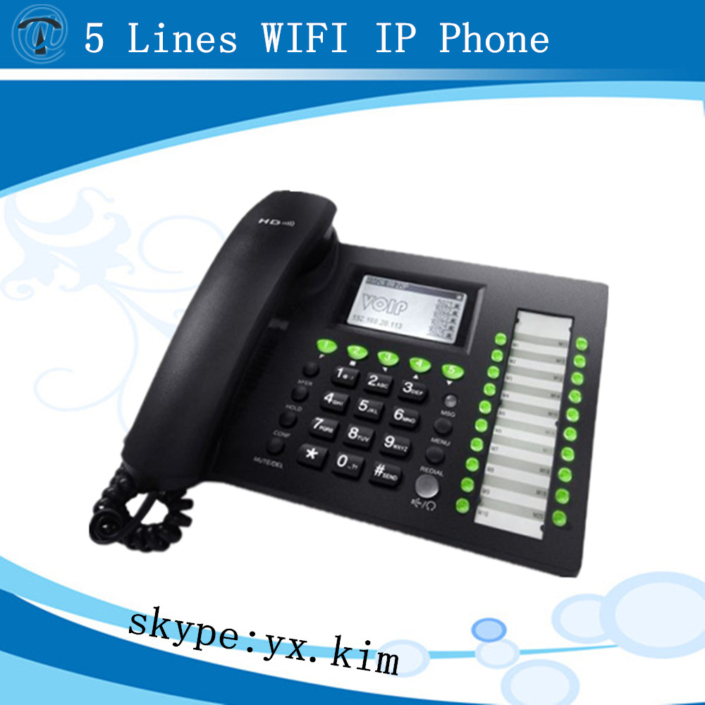 IP652,Super HTTP Server for Web Management IP phone