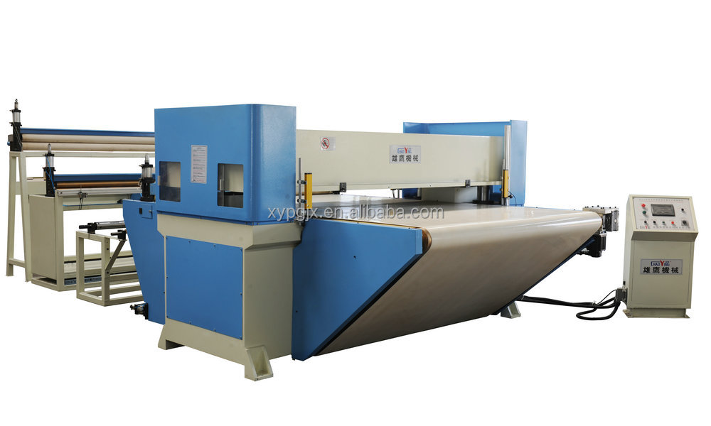 CE Circulatory conveyor belt feed PLC die cutting machine
