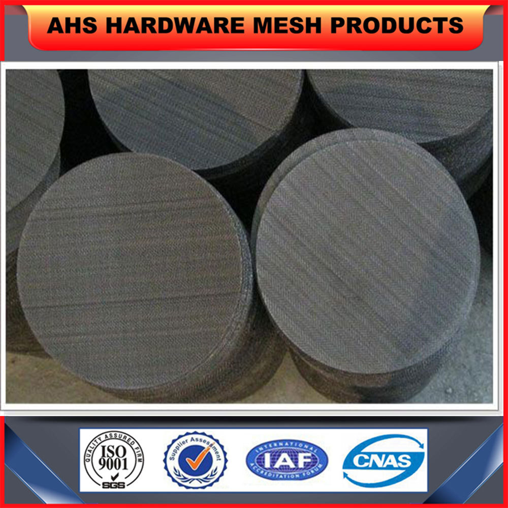 Plastic Extrusion Used Black Wire Cloth Filter Disc - Buy Filter ...