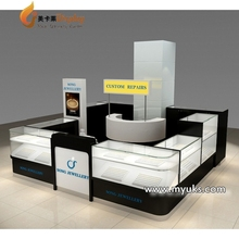 Professional Design OEM/ODM Mall Jewelry Display Kiosk For Sale