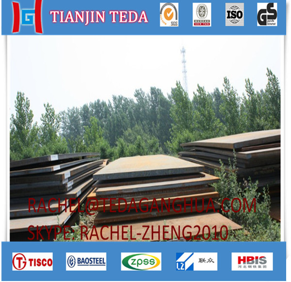Chinese factory best quality EN10025 S355K2+N alloy steel plate price