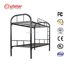 Stable bunk bed meatl school bed steel military bunk bed