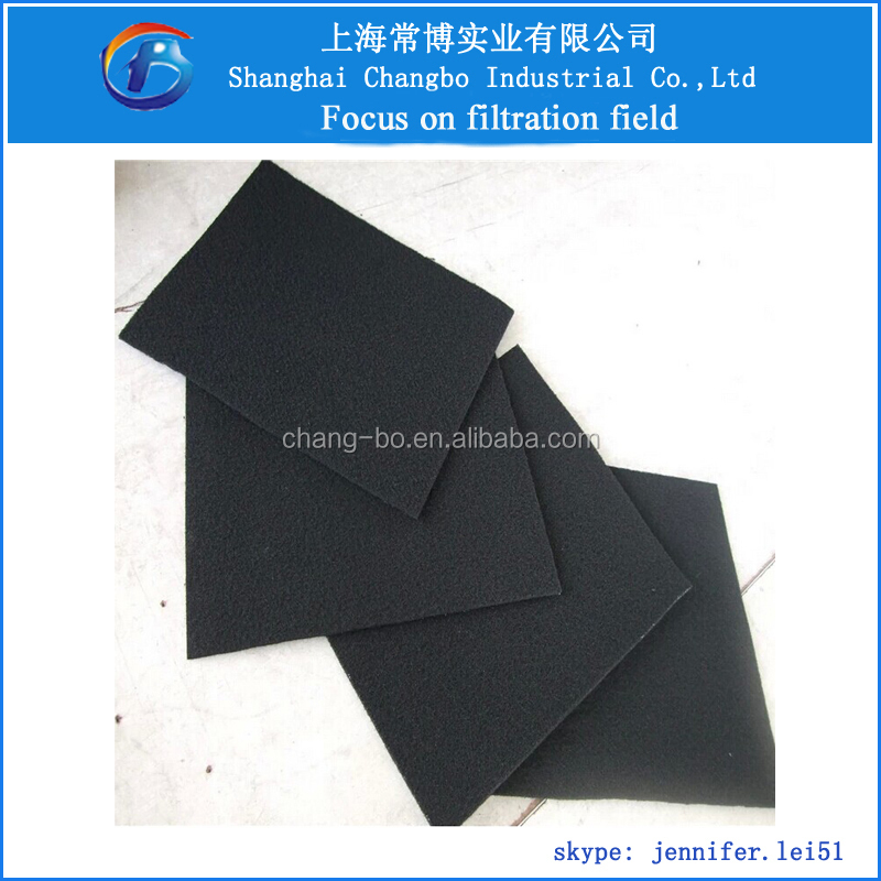 Carbon Filter For Air Conditioner/activated Carbon Foam Pad