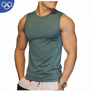 (OEM Factory)Custom Made Mens Gym Clothing Men Fitness Breathable Cheap Price Tank Top