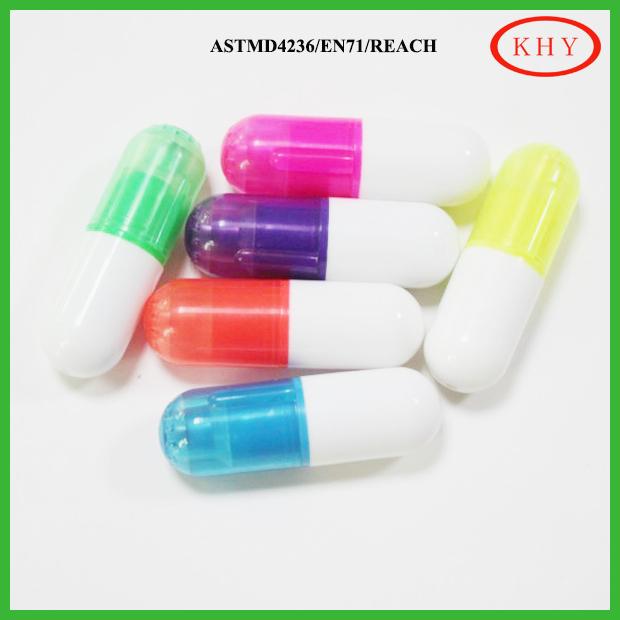surligneur pilule