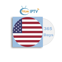 TVLINK 1 Year IPTV USA subscribe IPTV Europe with M3U8 Channels List for android tv box smart iptv enigma2 VLC magxx