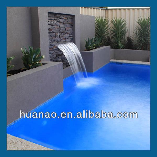 Diy interior cascada decoraci n cortina de agua para for Modelos de piscinas con cascadas