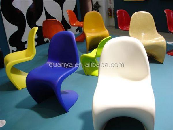 Replik Berühmte Designer Stühle Kunststoff S Form Seite Stuhl Für Wohnzimmer