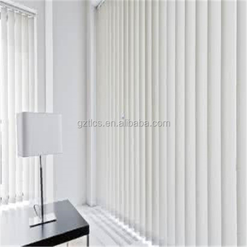 Factory direct blackout curtains vertical blinds electric and manual single double open