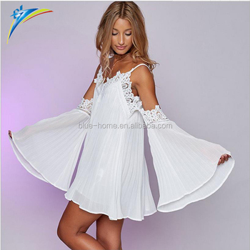 Off the Shoulder Boho Dress