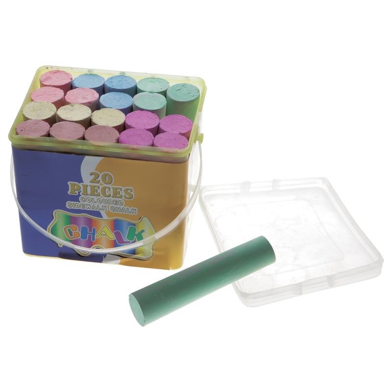 20 pcs dustless color chalk blackboard chalk with high quality and competitive price for school