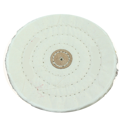 Diameter 5 inch 15 ply white Polishing buff, buffing wheel for jewelry polishing machine