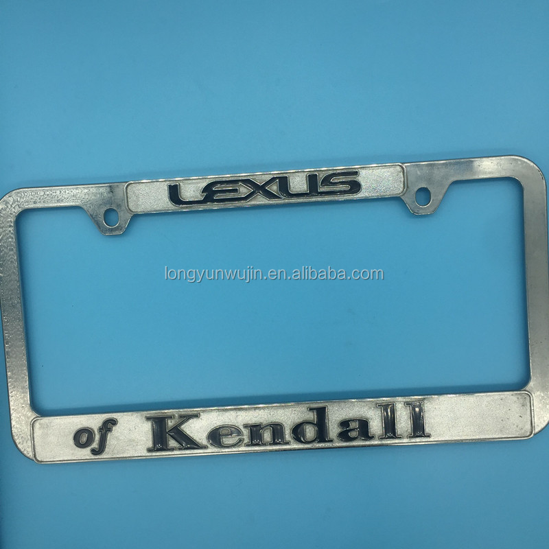 vehicle license plate holders,Plastic license plate frames,Customized