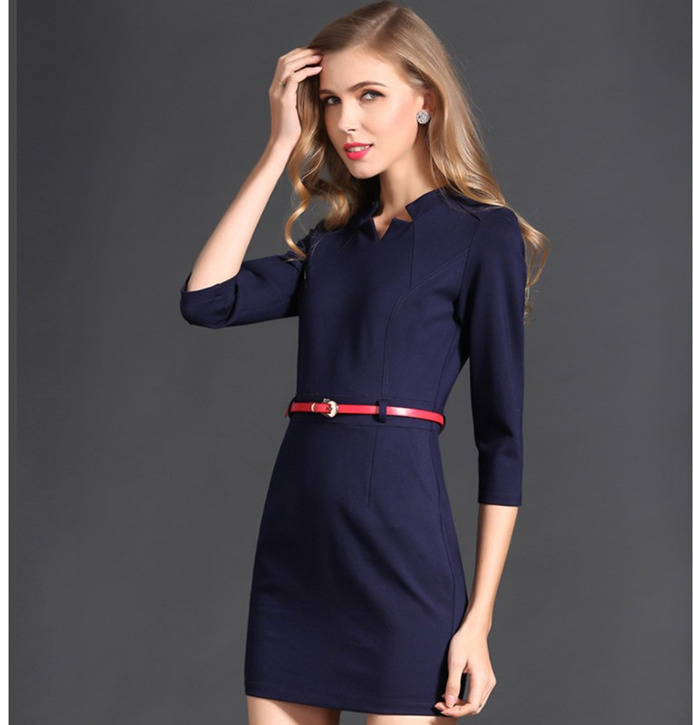juqian high end long sleeve women modern office uniform
