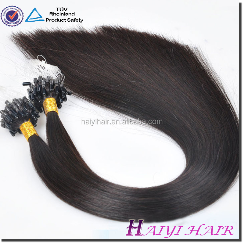 Frist Selling Human Hair Extensions micro ring hair extensions for blacks