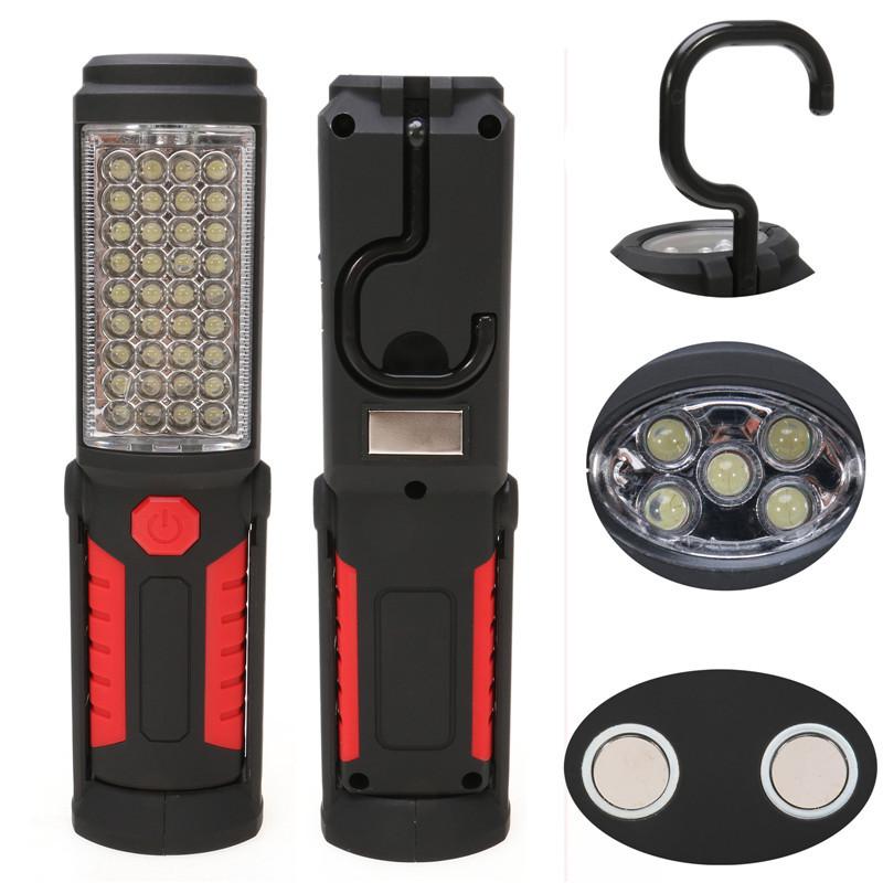 ᗔsuper Bright Usb ₩ Charging Charging 36 5 Led Flashlight