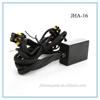 jh long life led auto lights wire harness 12v 9006 connector for
