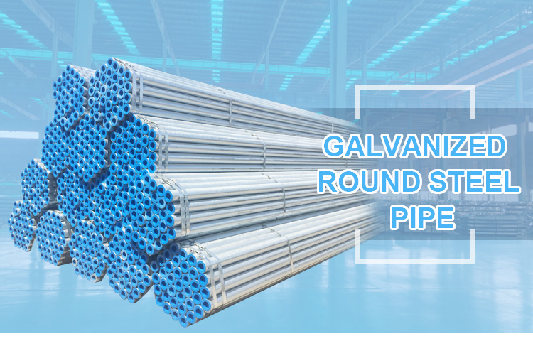 Bs1387 class b galvanized steel pipe price per meter