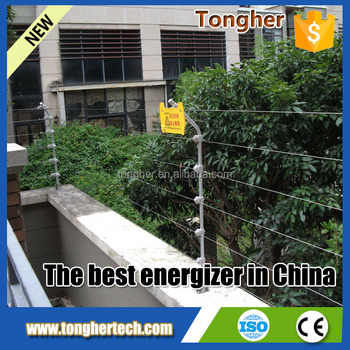 12v voltage electric fence charger system factory