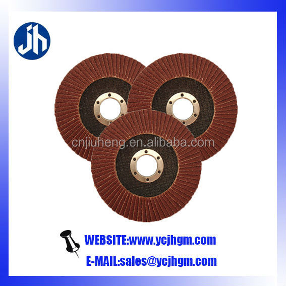 atlas abrasive flap discs for smooth and finish polishing