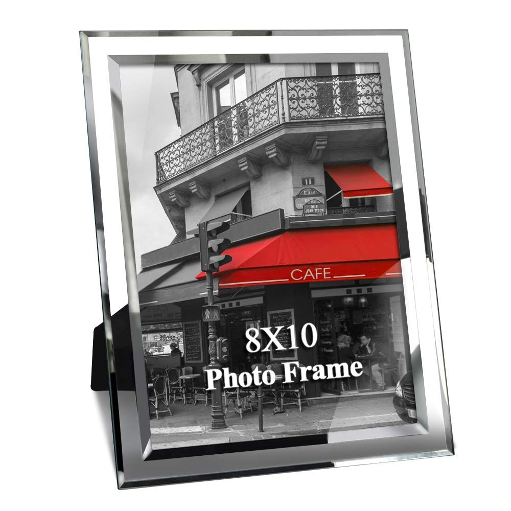 Giftgarden 8x10 Picture Frame Glass Frames 8 by 10 inch Photo Display Friend Gifts