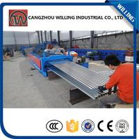 Hydraulic cutting roof tile roll forming machine price