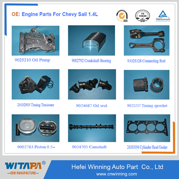 Chevrolet Auto Parts >> Auto Engine Spare Parts For Chevrolet Chevy New Sail 1 4l Car With
