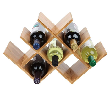Custom Floor Table Wooden Cabinet Wood Wine Display